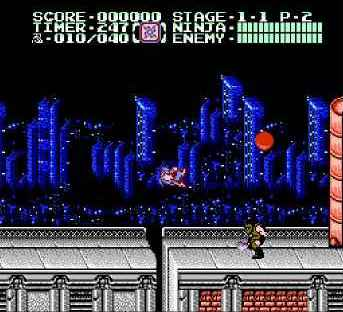 игра Ninja Gaiden II: The Dark Sword of Chaos