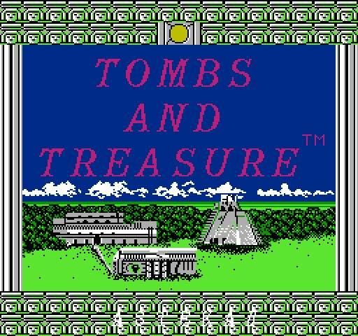 Игра Денди Tombs & Treasure (Гробницы и сокровища) онлайн