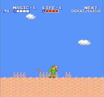 игра Zelda II: The Adventure of Link